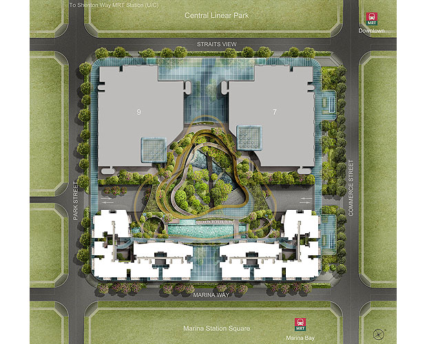 Marina-ONE-Residences-Site-Plan-1