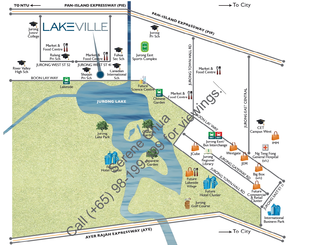 lakeville location map