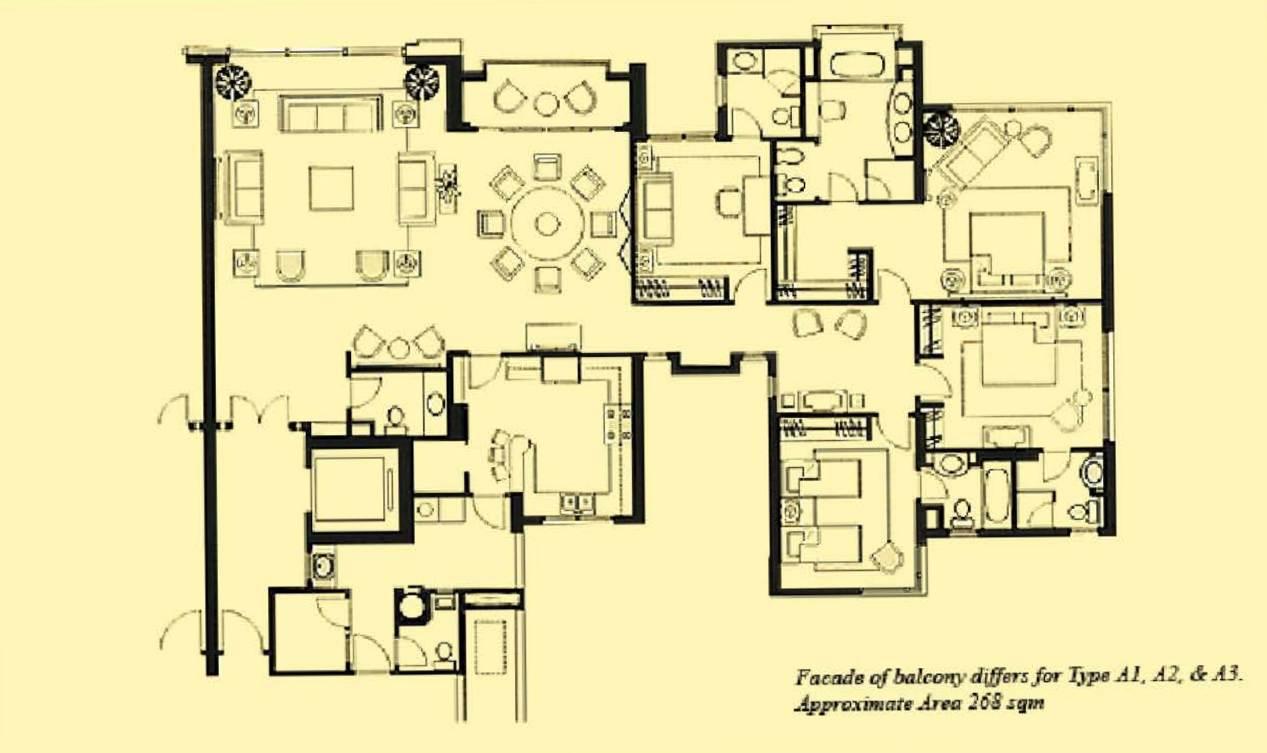 Ardmore Park Floorplan (1)